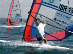 Gal Fridman windsurfing in Israel